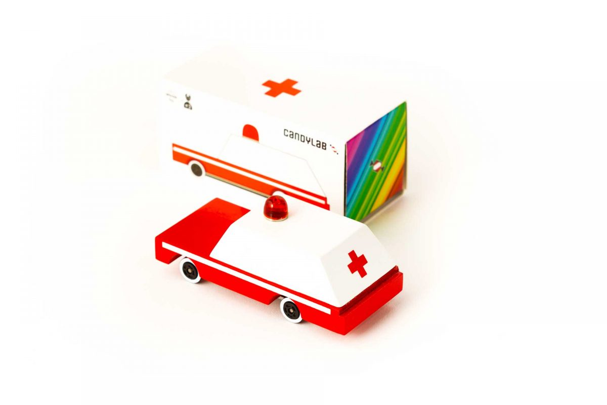 Candylab Ambulance rear