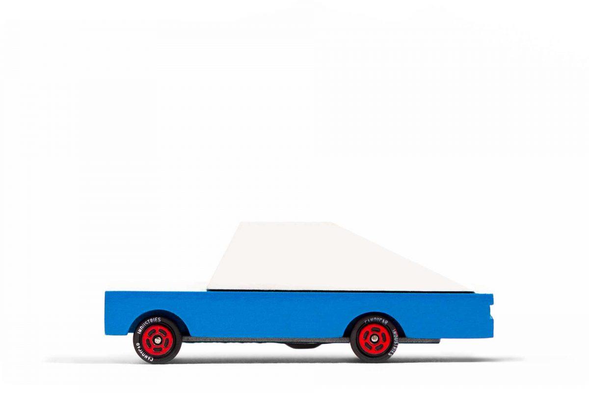Blue racer #8 Candylab side