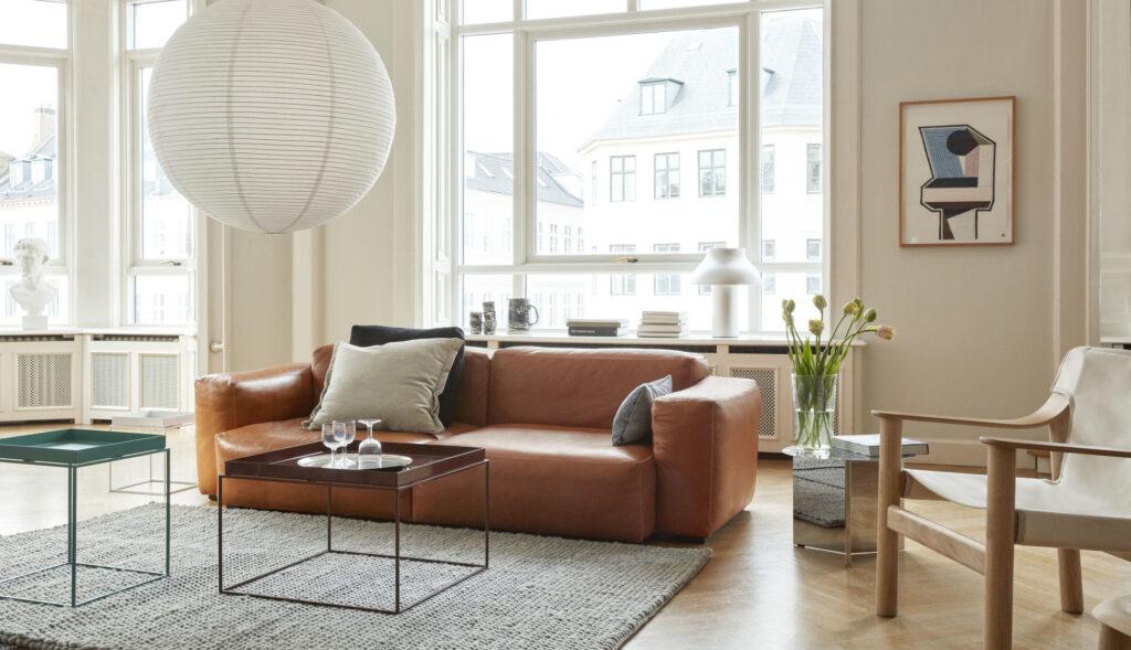 Mags Soft Low 2,5 posti divano pelle