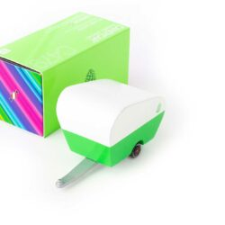 Pinecode roulotte Candylab verde fronte