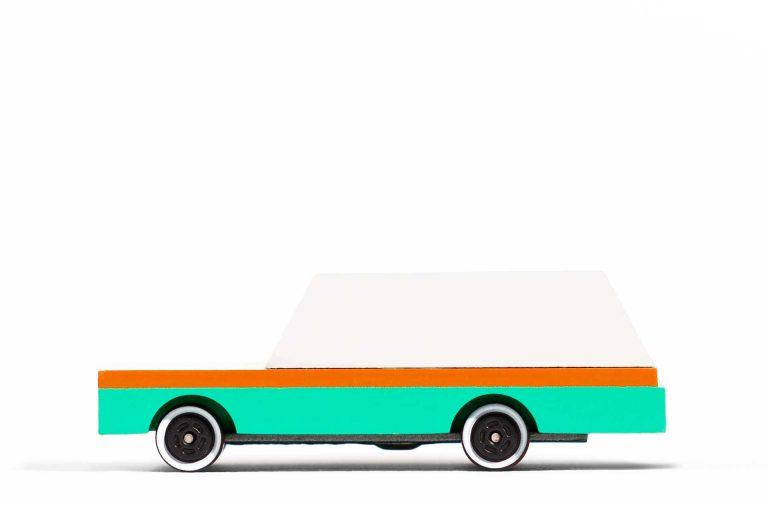 Candylab Teal Wagon side