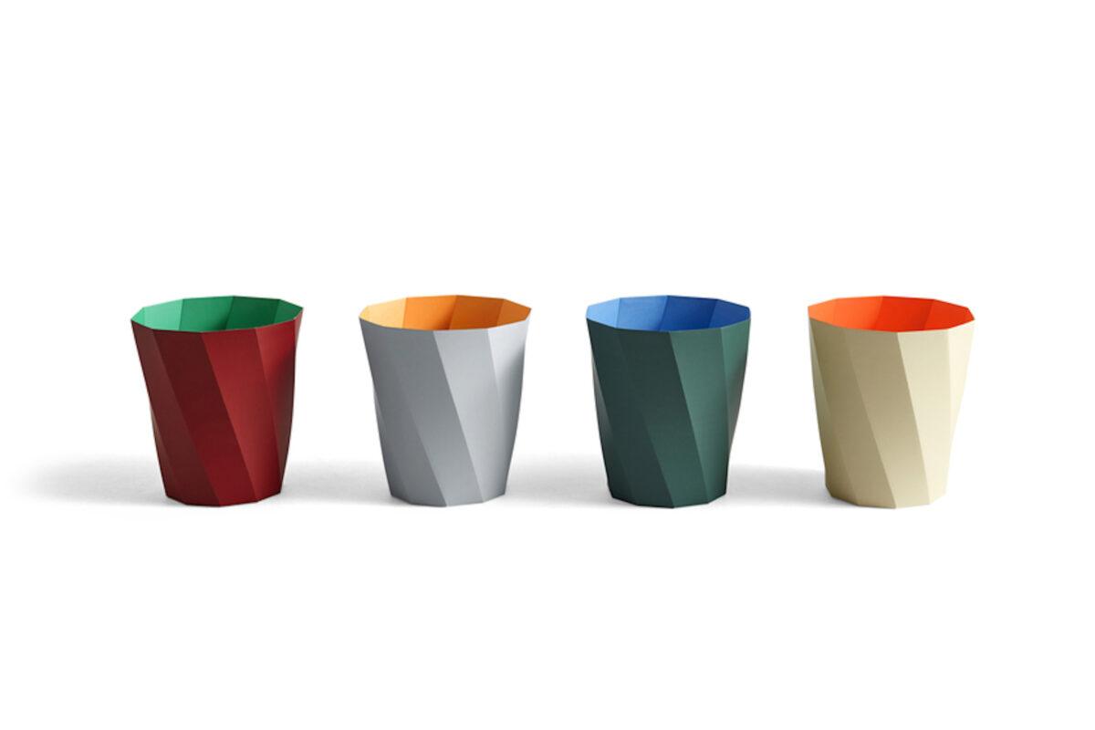 Paper Paper Bin cestini carta colorati