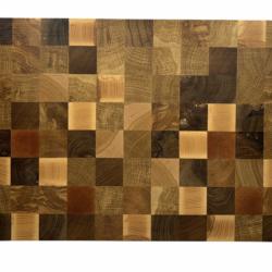 Vud checkered cuttingboard