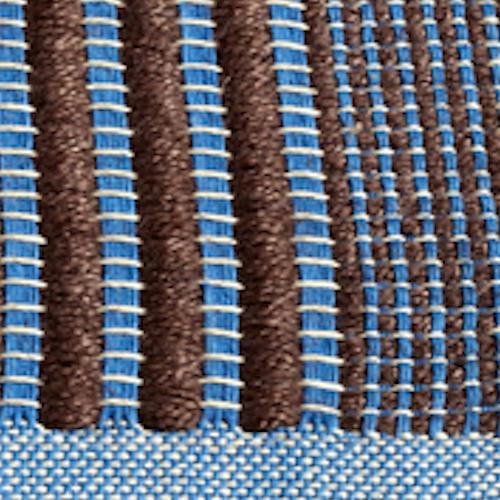 Marrone e blu