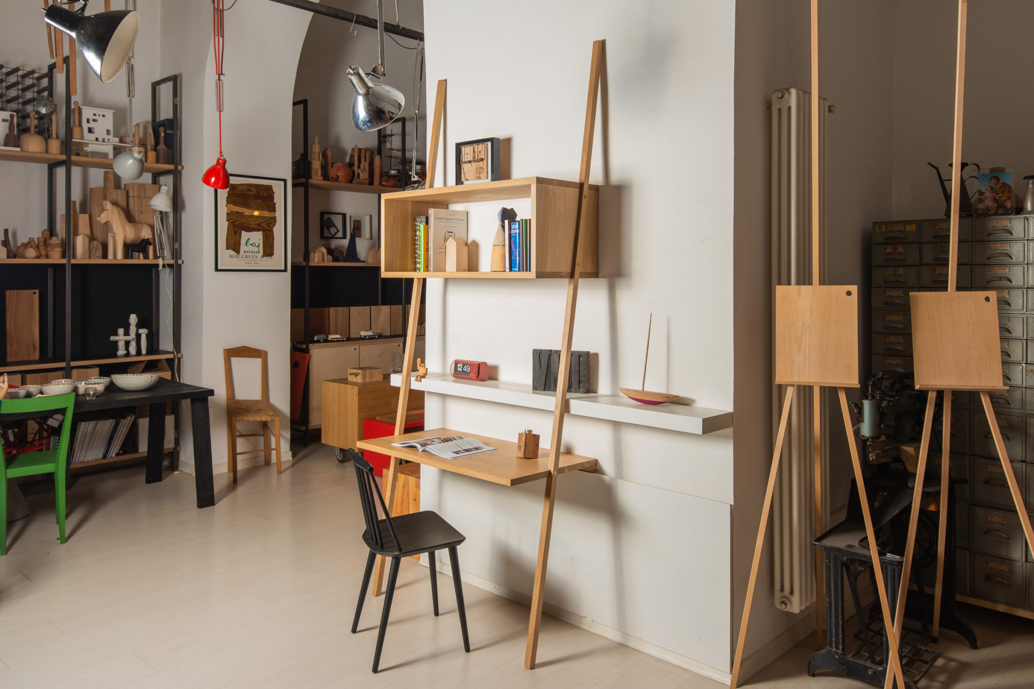 Vud Design Trieste Scrivania Legno su misura