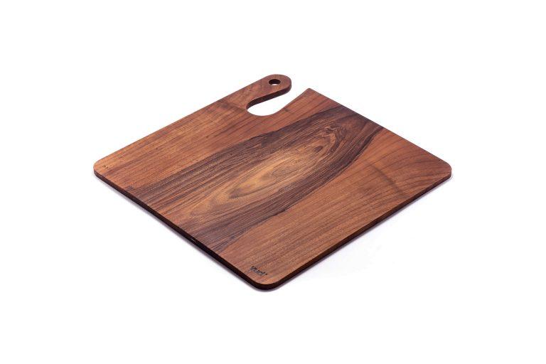 Cutting Board Serie H 40x40 walnut