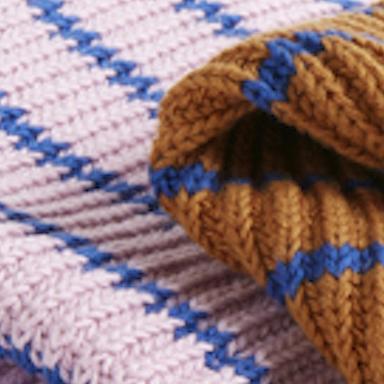 Blue-brown-pink