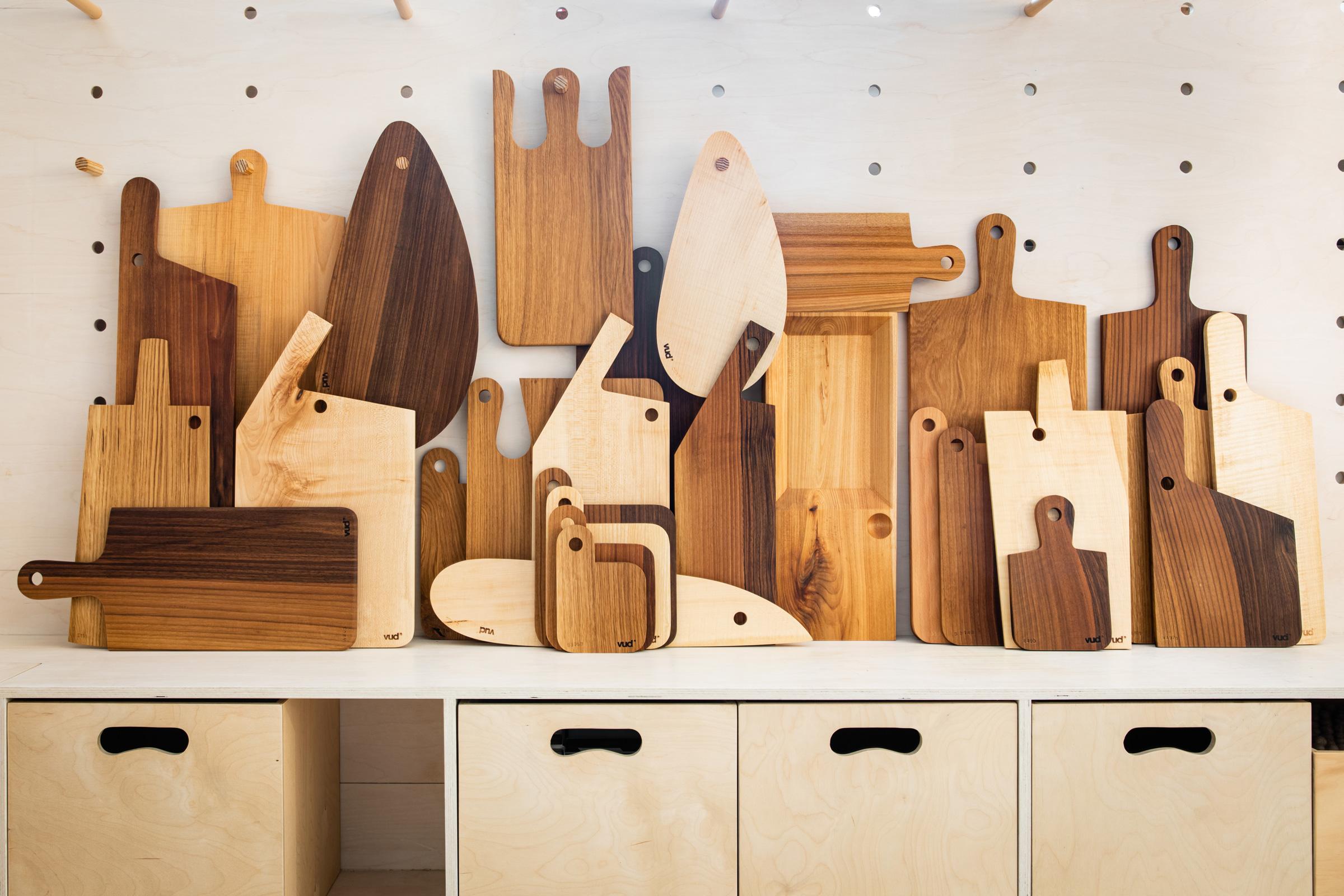 I taglieri di Vud Design Trieste