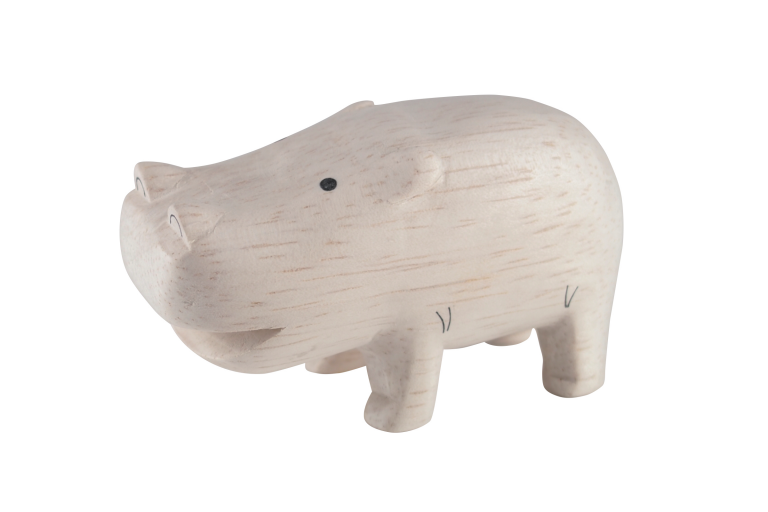 Vud T-lab Pole Pole hippopotamus