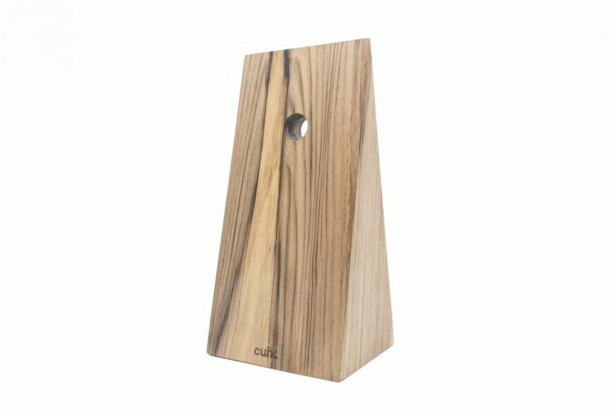 Vud progetto cugno walnut book wedge