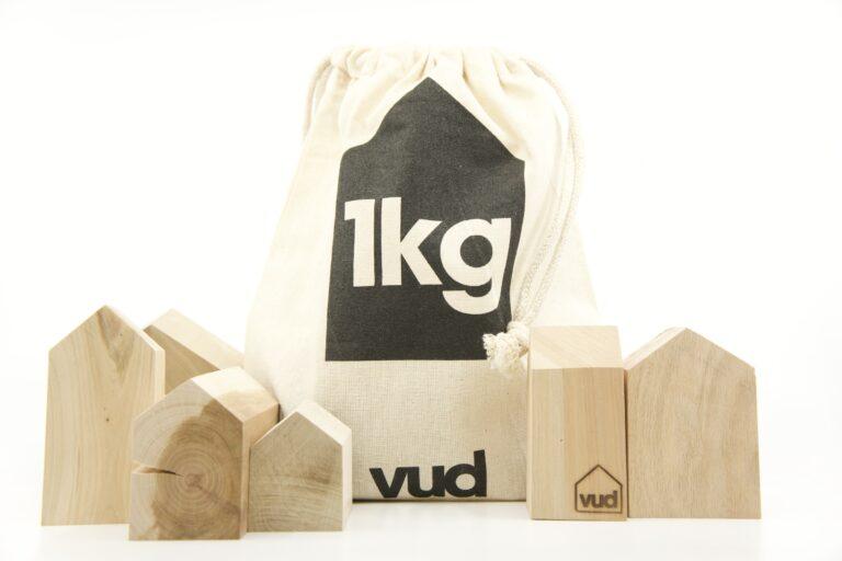 Vud 1kg di casette sacchetto chiuso